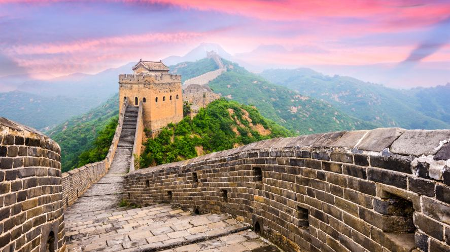 The Great Wall of a particular country