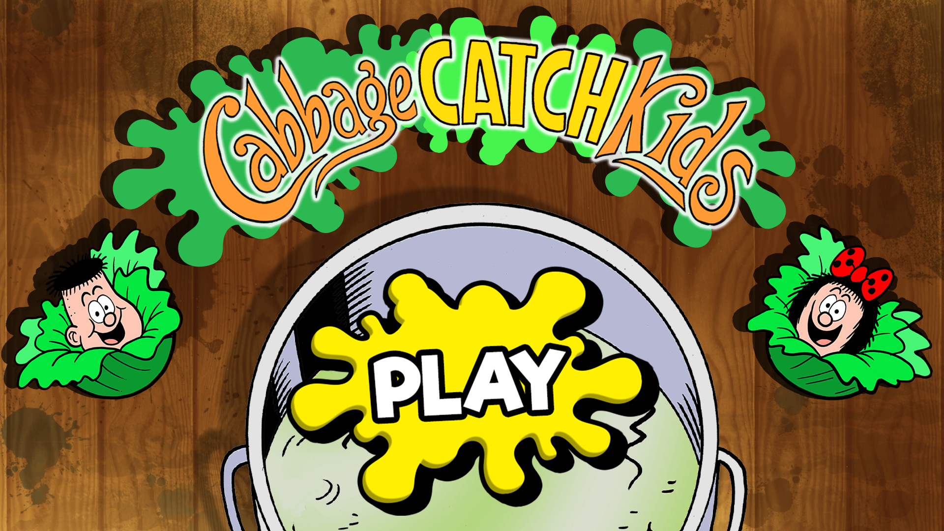 Cabbage Game: Cabbage Catch Kids