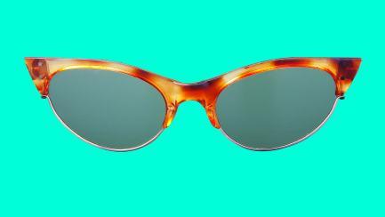 Old-fashioned sunglasses