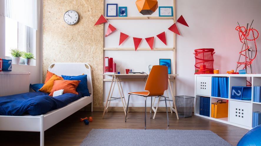 A very tidy bedroom