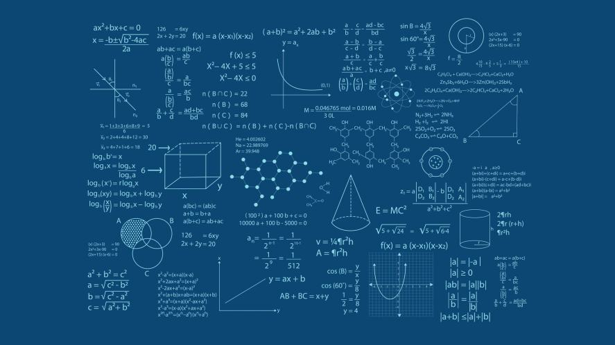 Complicated maths equations