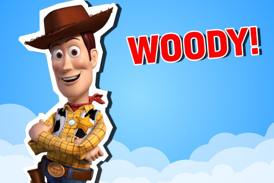 Sherriff Woody Pride from Toy Story | Which Toy Story Character Are You?