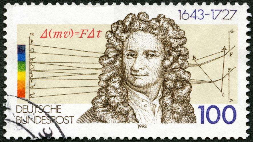 A scientist on a fancy stamp | Science Quiz