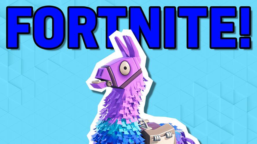 Fortnite's llama