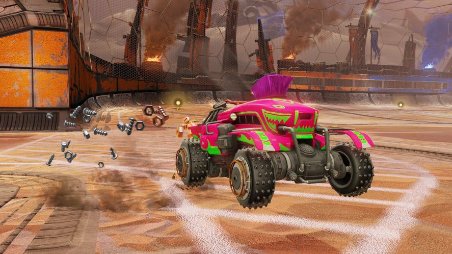 Chaos Run in Rocket League