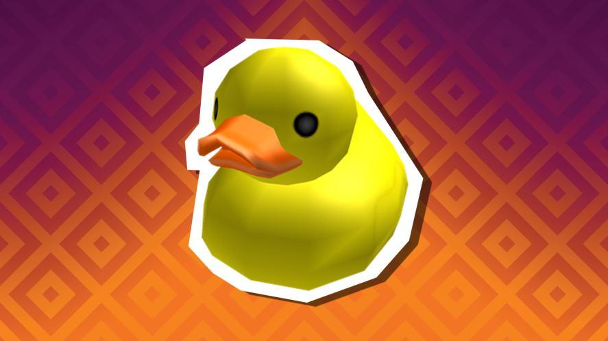 A massive rubber duck