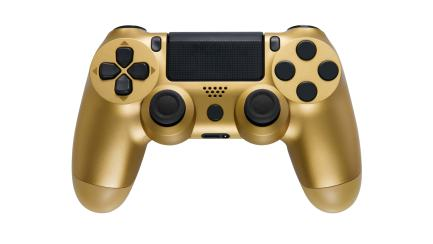 A golden game controller