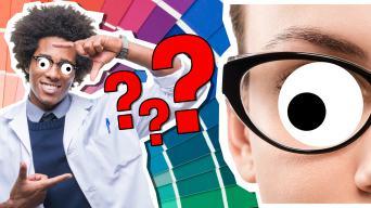 Youtuber colour quiz