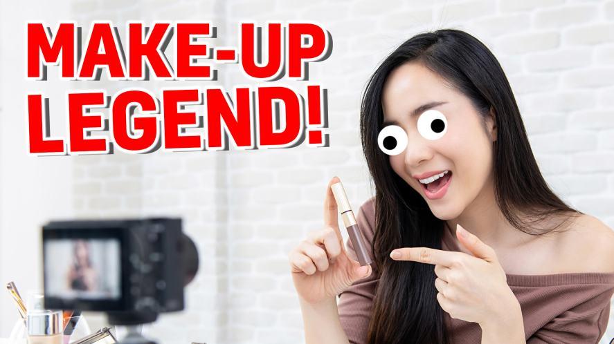 Make-up legend!