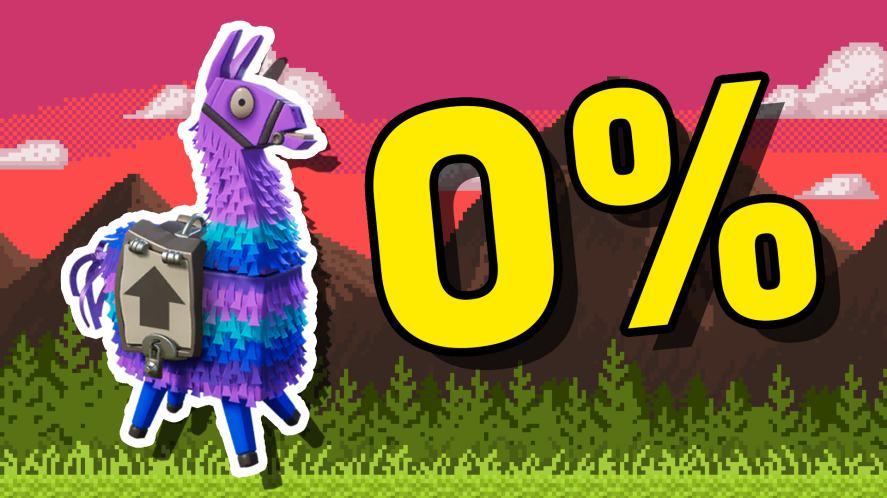 0% Llama Loot
