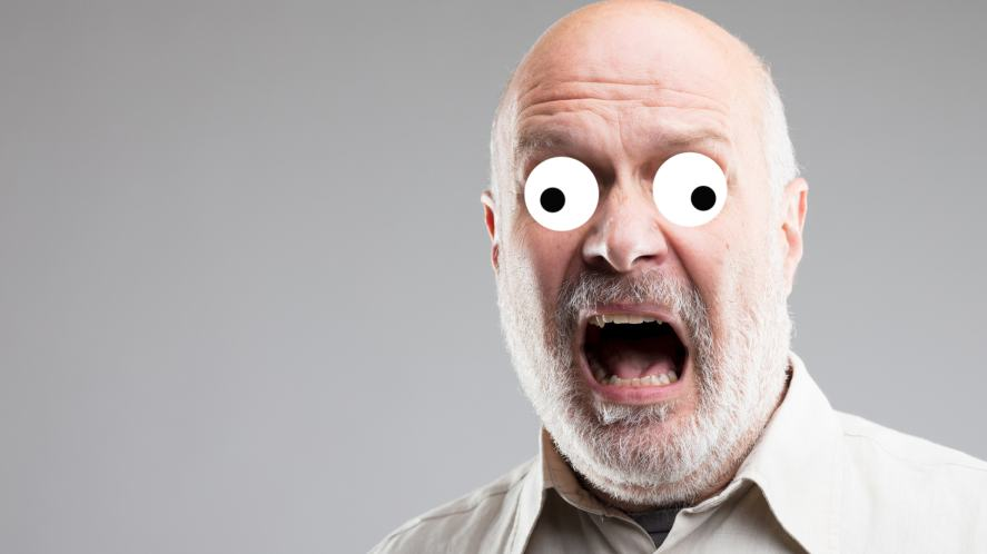 Panic face!