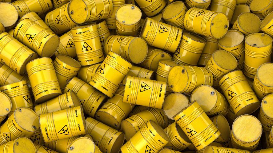 Nuclear waster barrels