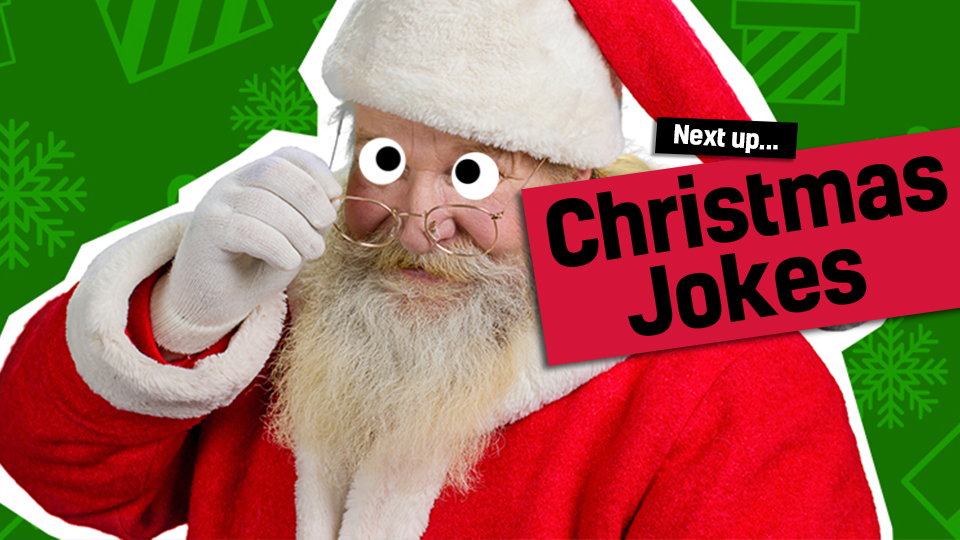 Santa - link from Santa jokes to Christmas jokes