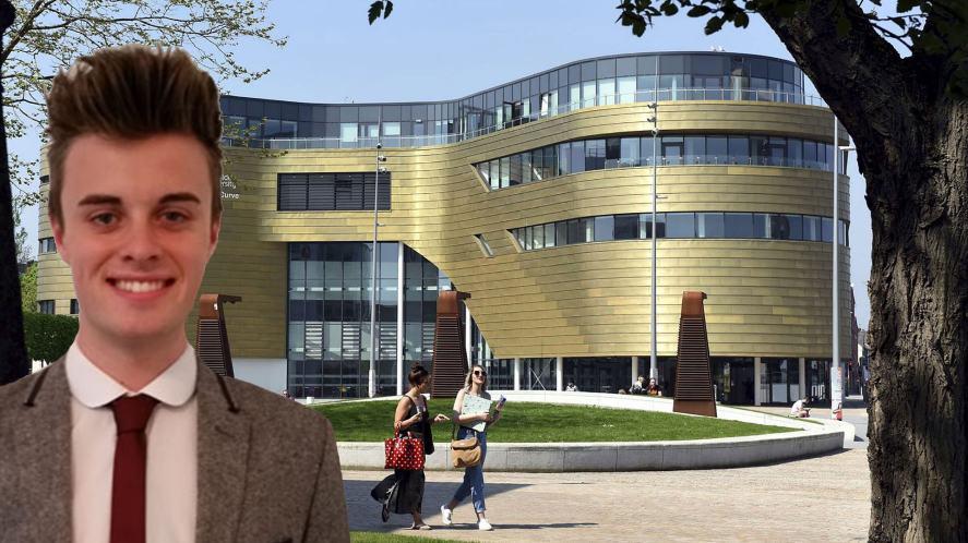 Joe studied at Teeside University