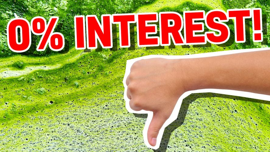 No interest in slime at all