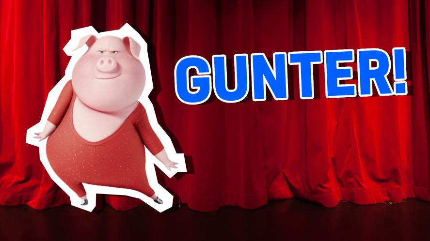 Gunter from Sing! What Sing Character Are You? | Sing Quiz