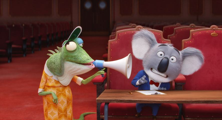 A scene from Sing!
