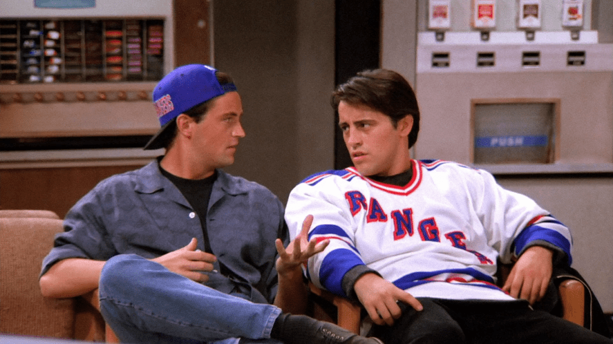 Chandler and Joey | Take this friends who said it quiz!