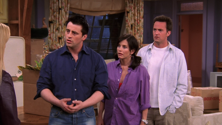 Joey, Monica and Chandler | friends who said it quiz!