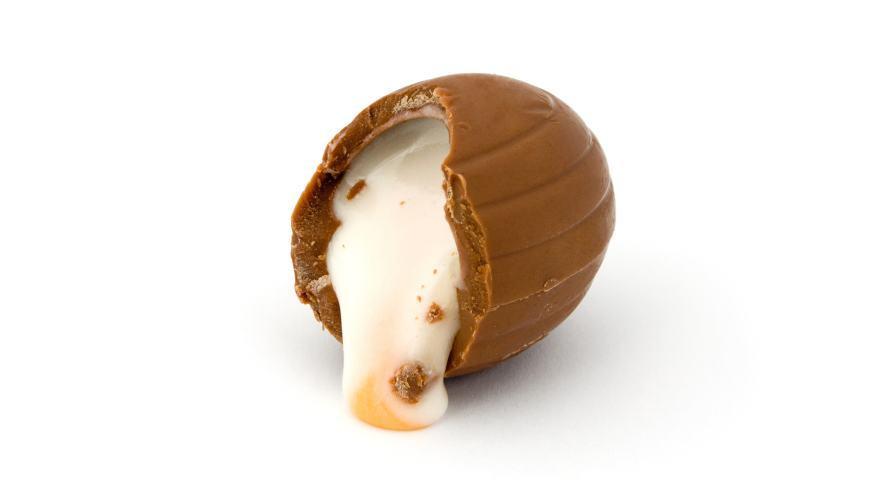 A Cadbury Creme Egg