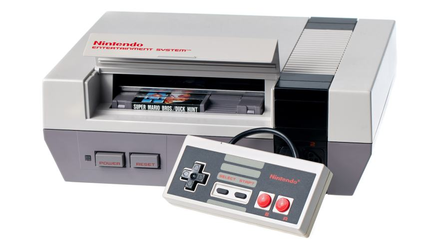 A Nintendo Entertainment System