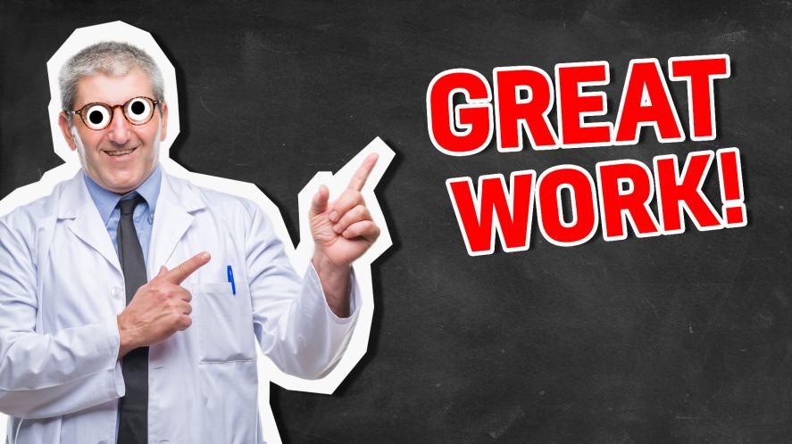 Great work! | Science Quiz