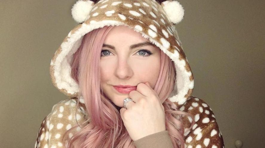 ldshadowlady in a reindeer onesie | How Well Do You Know LDShadowLady
