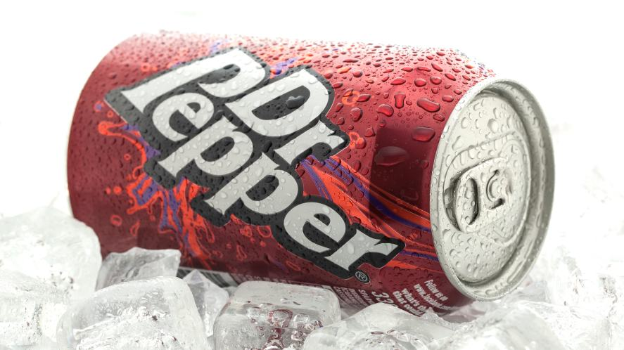 A can of Dr Pepper resting on a bed of ice | How Well Do You Know LDShadowLady