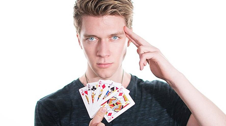 Collins Key attempts to do a card trick | How Well Do You Know Collins Key?