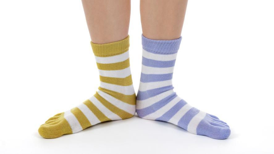 A pair of odd socks