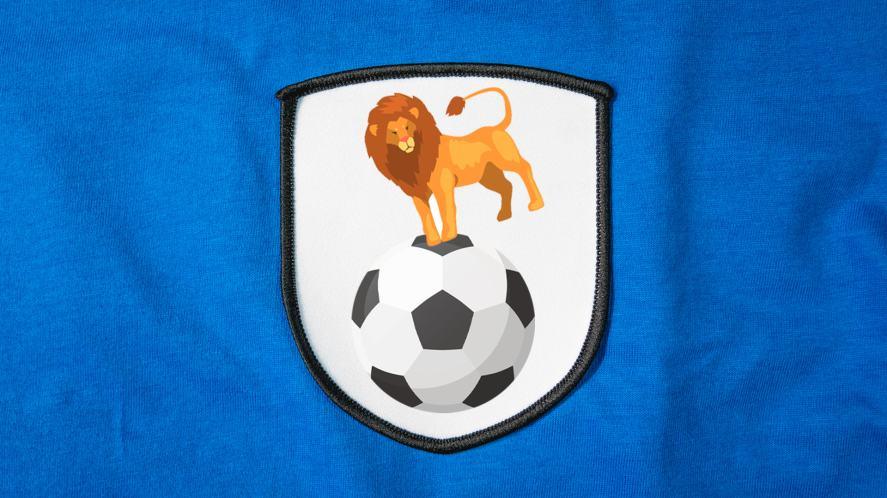A football badge