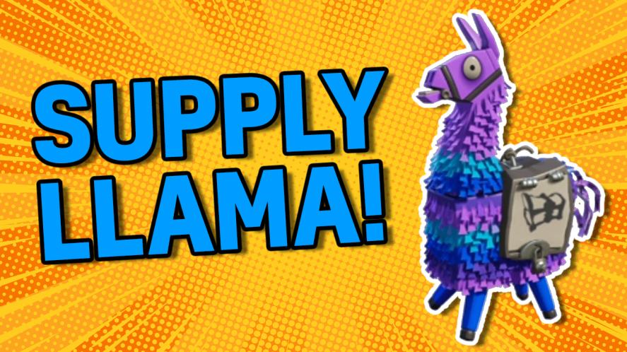 Supply Llama from Fortnite