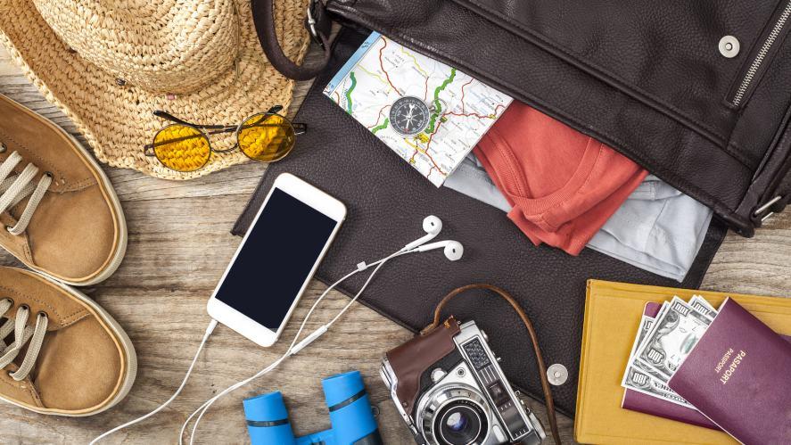 A bag full of handy gadgets