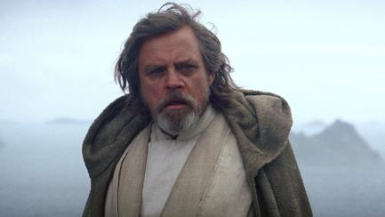 Luke in Star Wars: The Force Awakens