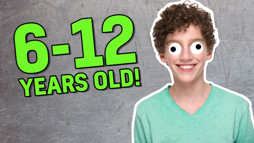 6-12 years old