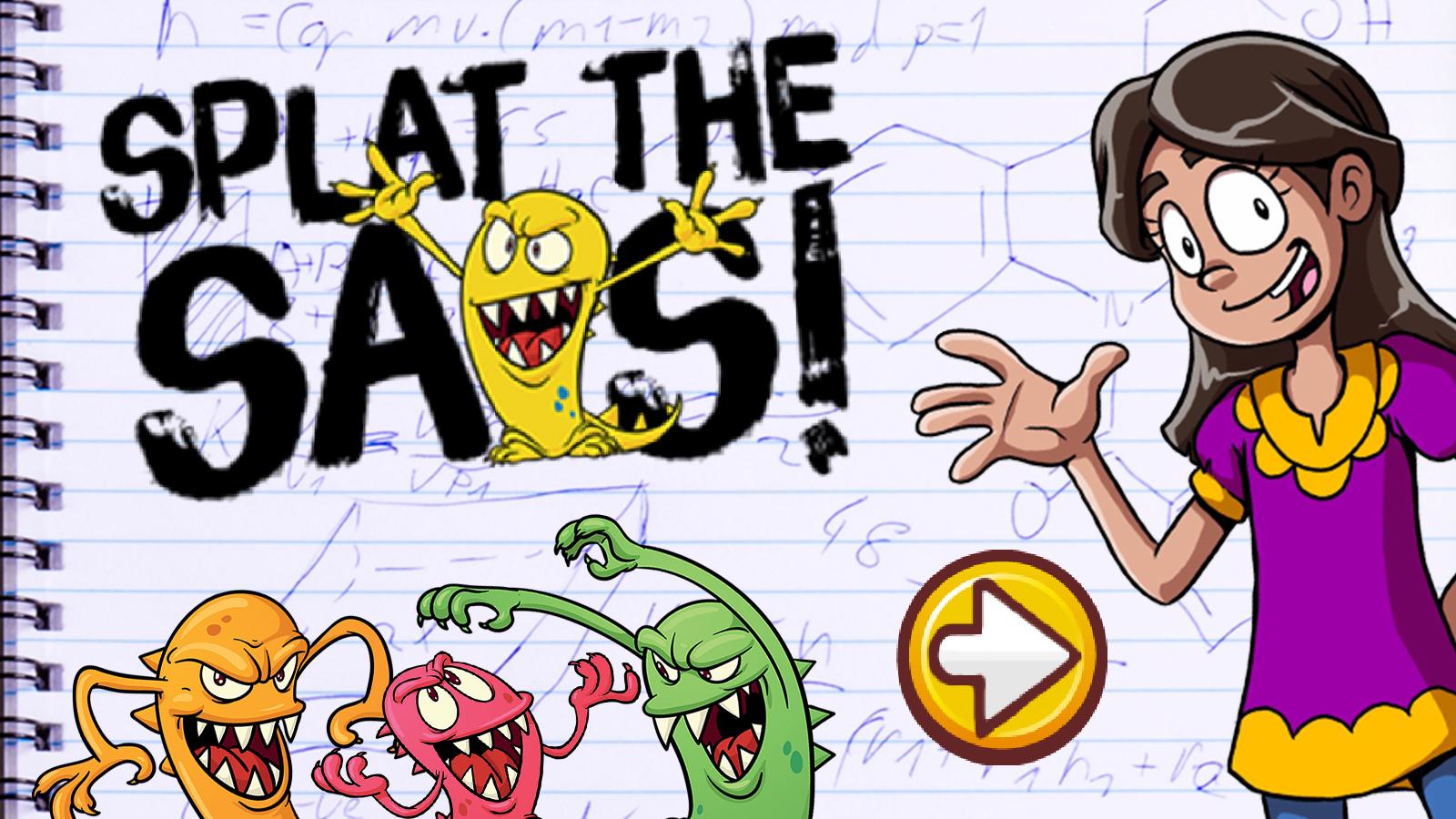 Splat the SATs!