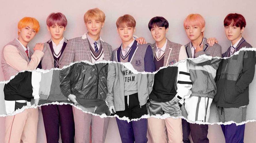 BTS line-up shop