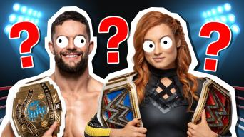 Finn Balor and Becky Lynch
