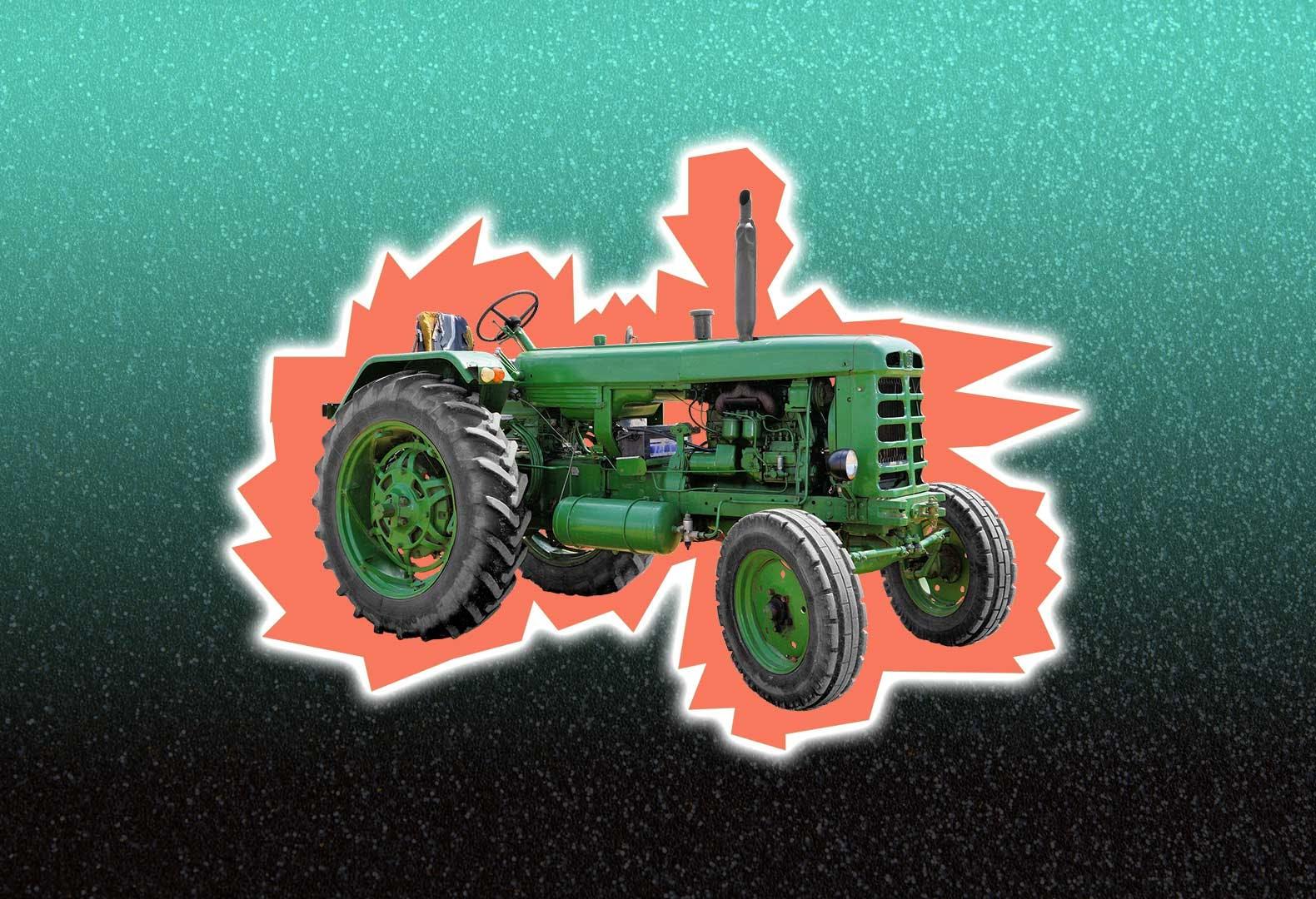 Magic tractor joke