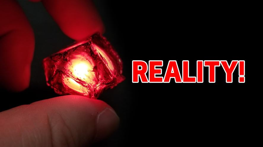 Red infinity stone