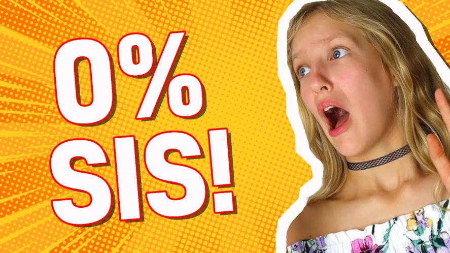 You are: 0% SIS!