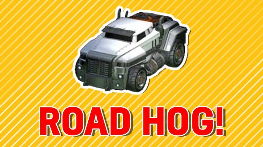 Your Rocket League Battle Car is: ROAD HOG!