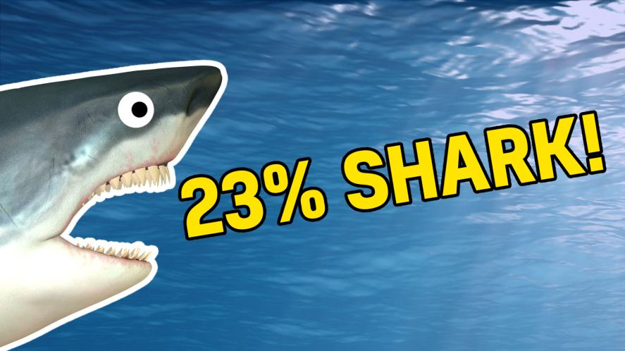 23% shark