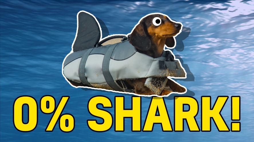 0% shark