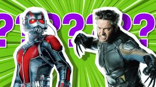 Marvel characters Ant Man and Wolverine
