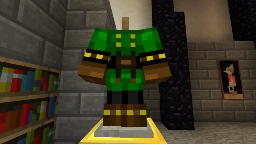 Minecraft armour