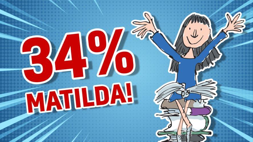 34% Matilda