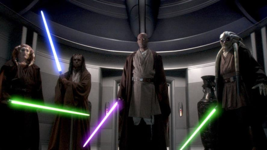 A group of Jedi knights