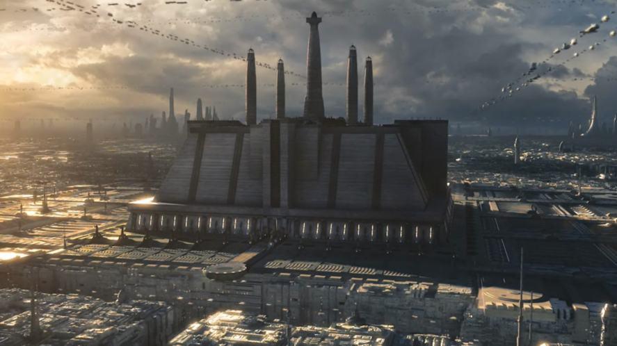 A Jedi temple