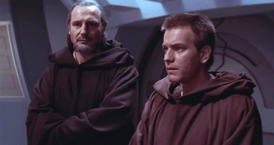 Qui-Gon Jinn and Obi-Wan Kenobi